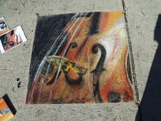 First attempt at street art by Freedan90