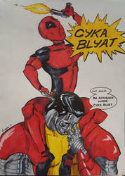 CYKA BLYAT by Coyle1982