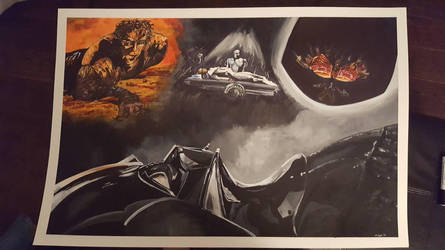 Darth Vader Immolation by Coyle1982