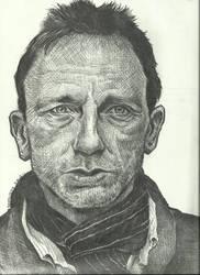Daniel Craig by zzenkinsein