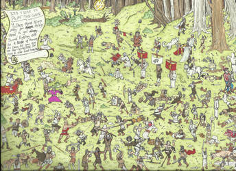 Where in the Whispering Woods is Waldo? by zzenkinsein