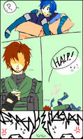 :SSBB:Snake:Marth:Tegaki: by KaiSuki