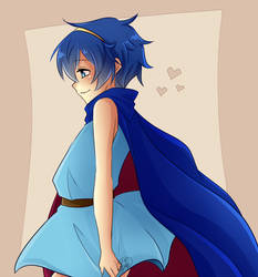 :FE:Little:Marth: by KaiSuki