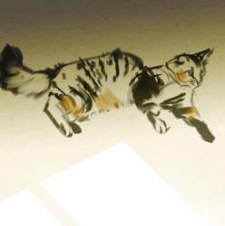 Meow ... by ViridRain