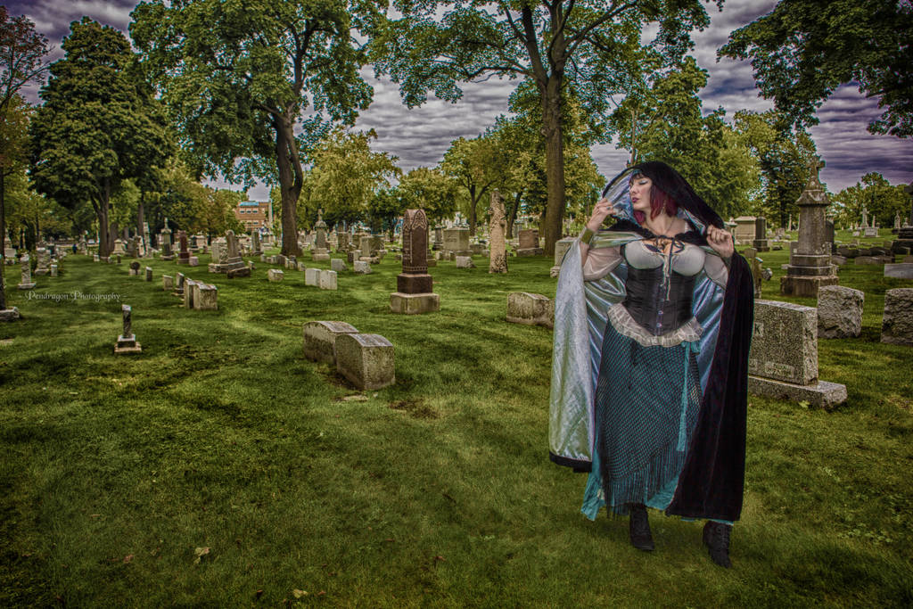 A Walk in the Cemetery by pendragon93
