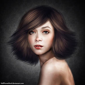 Girl Portrait by HellPurestDevil