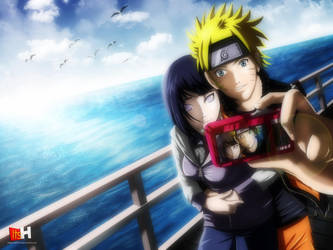 Naruto and Hinata by HellPurestDevil