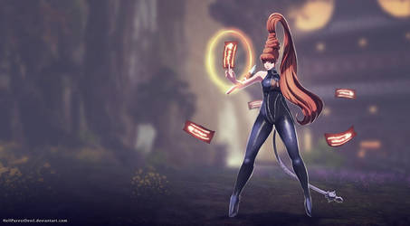 Commission - Warlock by HellPurestDevil