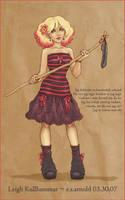 Seid-witch Leigh Kullhammar by horribletak