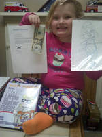 Honey Boo Boo with my Picture Book! by ronaldhennessy