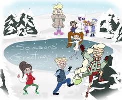 Seasons Greetings 2012 by ronaldhennessy