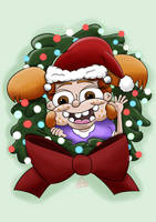 Have Yourself a Maddie Little Christmas by ronaldhennessy