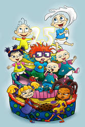 Happy Birthday Rugrats by ronaldhennessy