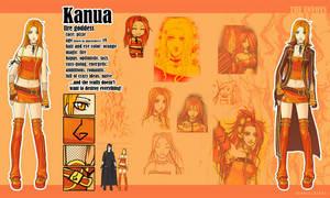 charasheet - Kanua by anikakinka