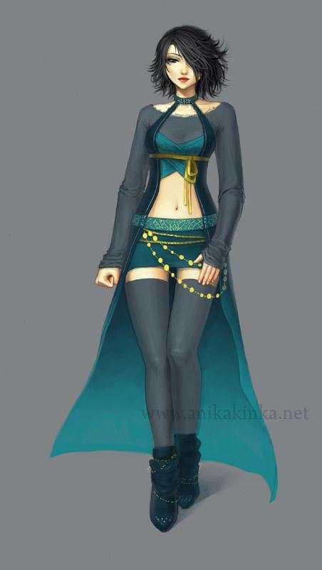 Rich Turquoise by anikakinka