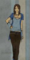 Blue Paint by anikakinka