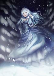 Snow Queen by anikakinka