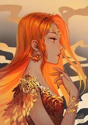 In the Name of Fire II by anikakinka