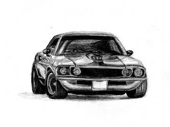 Ford Mustang by M-Lasta