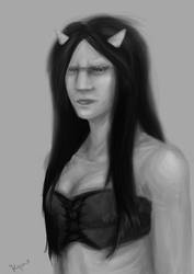 Goatwoman by Kyme