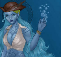 Kiani The Undine by candemarzat