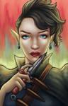 Vampire Assassin by candemarzat