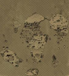 Carte globale/global map : Irthyan by Khelian-Elfinde
