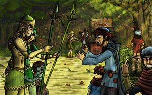 Imaginarium 14 : Elven concerns by Khelian-Elfinde