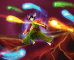 Imaginarium 15 : Atoshisama and the kamis by Khelian-Elfinde