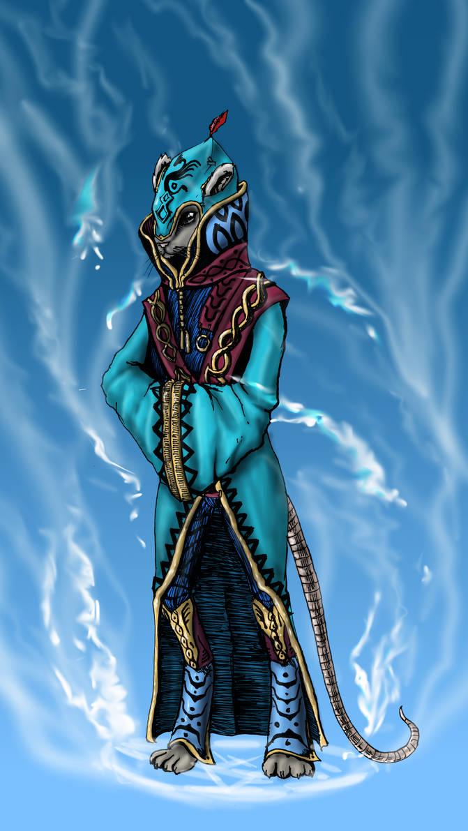 Imaginarium 18 : Mysterious man by Khelian-Elfinde