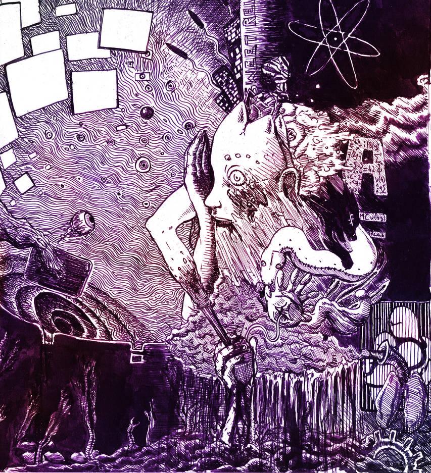 Nightly brainstorm by Khelian-Elfinde