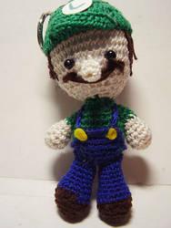 Super Mario Bros: Luigi Doll by Nissie