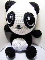 Panda Crochet Doll by Nissie