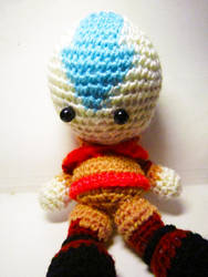 Avatar - Aang Doll by Nissie