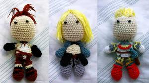 Vagrant Story Crochet Dolls by Nissie