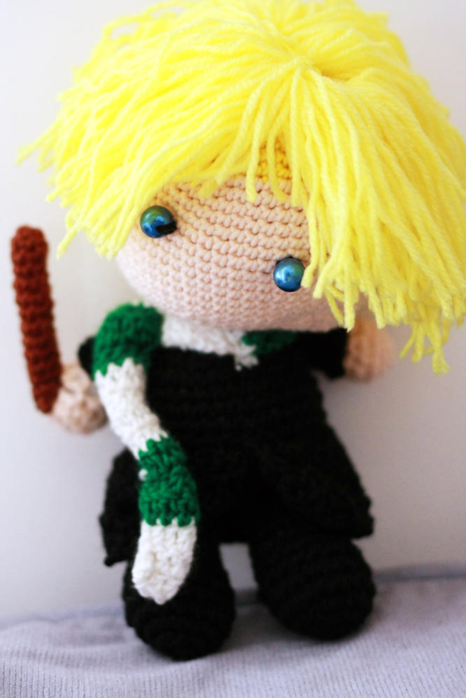 Harry Potter Draco Malfoy Doll 8 Inches By Nissie On Deviantart