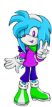 Request 4: Sandra The Porcupine by Tangerinna