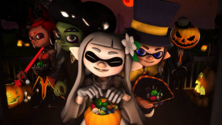 Splat-o-ween 2018 by Malachite-Squid