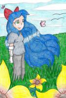 :Commission: Windy Meadow by still-a-fan