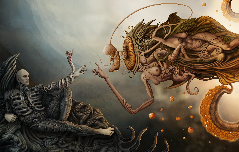 prometheus and god by Dejano23