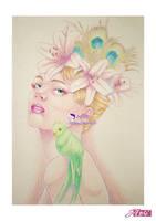 La Dame Aux Oiseaux by Ori06