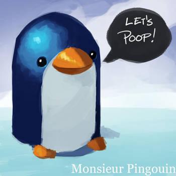 Monsieur Pingouin by PandaFace