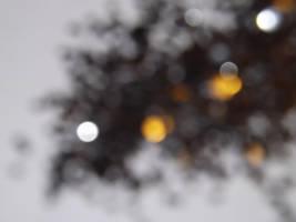 Black Glitter One by snowmanjester