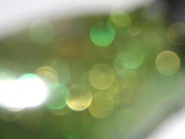 green glitter three by snowmanjester