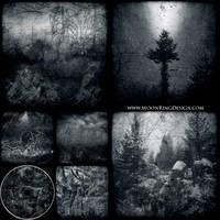 6 pages CD image Black Dark Metal CD album cover by MOONRINGDESIGN