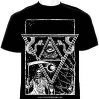 Triangle-death-frame-t-shirt-design-black-deat by MOONRINGDESIGN