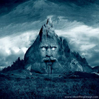 Mountain-fear-death-doom-black-metal-cd-cover-arti by MOONRINGDESIGN