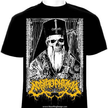 Corprophemia-technical-death-metal-canada-t-shirt- by MOONRINGDESIGN