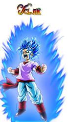 Pan Super Saiyajin God Super Saiyajin v.1 by Yclan