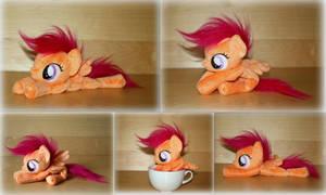 My Little Pony - Scootaloo - Beanie Plush by Lavim